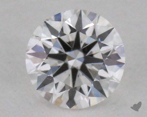 0.42 Carat F-SI2 Ideal Cut Round Diamond