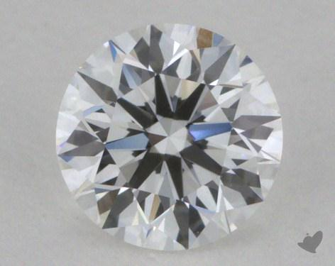0.33 Carat E-VVS2 Ideal Cut Round Diamond