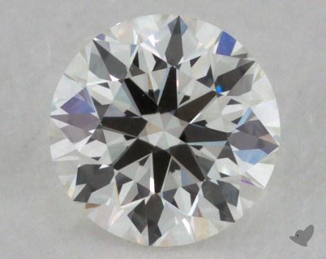 0.41 Carat H-VS1 Ideal Cut Round Diamond