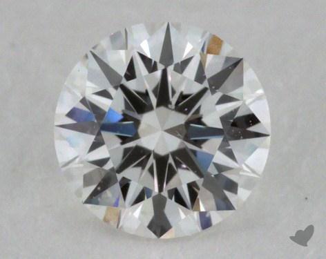 0.32 Carat F-VS2 Ideal Cut Round Diamond