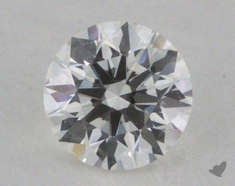 0.52 Carat F-VVS1 Ideal Cut Round Diamond