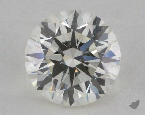 0.61 Carat J-VVS2 Round Diamond 