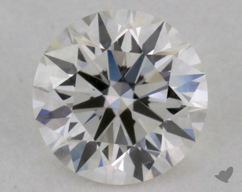 0.54 Carat H-VVS1 True Hearts<sup>TM</sup> Ideal Diamond