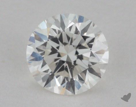 0.70 Carat I-SI1 Very Good Cut Round Diamond