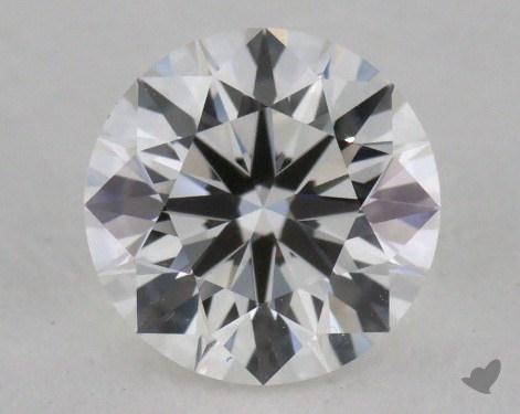 0.81 Carat F-IF Round Diamond