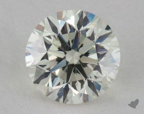 0.90 Carat H-VS2 Good Cut Round Diamond