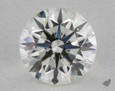 1.30 Carat H-VS1 Ideal Cut Round Diamond