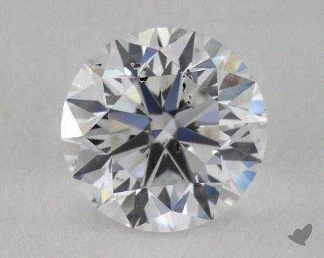0.90 Carat F-SI2 Very Good Cut Round Diamond
