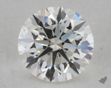 0.90 Carat G-VS2 Very Good Cut Round Diamond