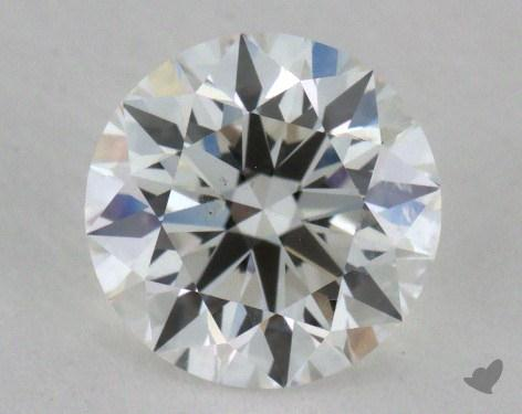0.90 Carat F-SI2 Ideal Cut Round Diamond