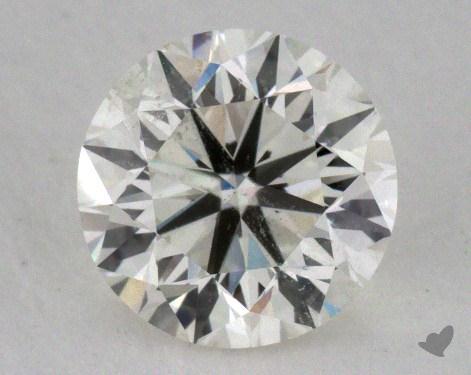 0.90 Carat I-SI2 Very Good Cut Round Diamond