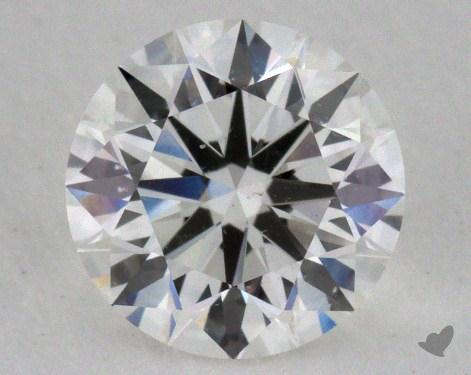 1.01 Carat F-SI1 Ideal Cut Round Diamond