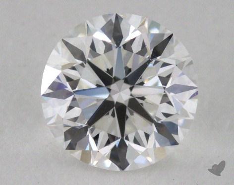 0.90 Carat E-VS1 Very Good Cut Round Diamond