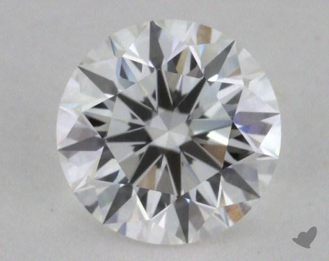 1.21 Carat F-VVS1 Ideal Cut Round Diamond