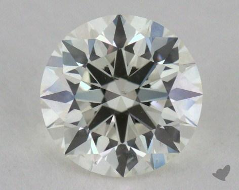 1.31 Carat J-SI1 Ideal Cut Round Diamond