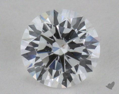 1.05 Carat D-I1 Round Diamond 