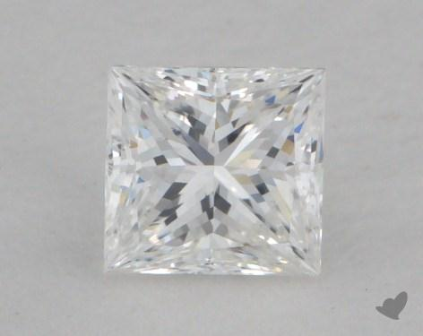 0.36 Carat E-SI2 Very Good Cut Princess Diamond
