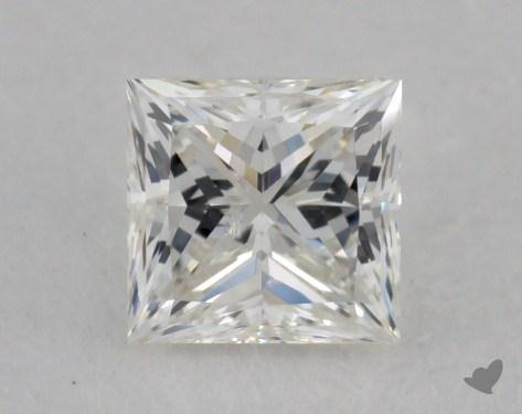 0.35 Carat I-SI2 Princess Cut Diamond