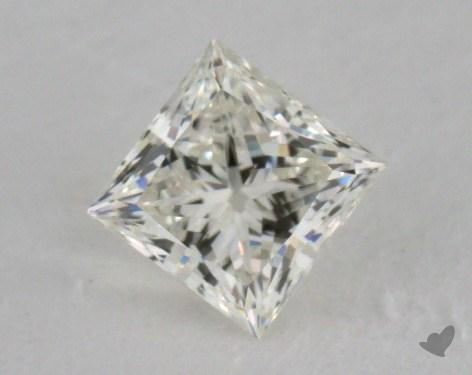 0.52 Carat K-SI1 Ideal Cut Princess Diamond