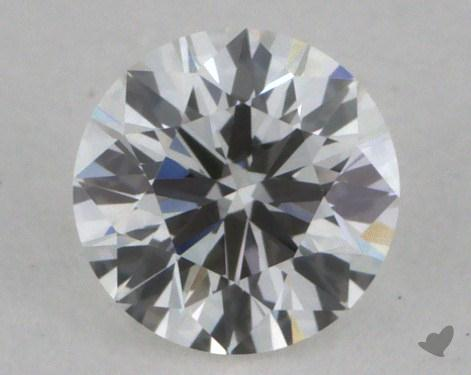 0.26 Carat F-VVS1 Very Good Cut Round Diamond