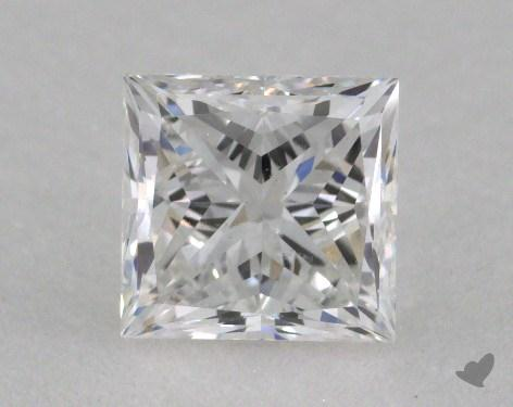 1.05 Carat F-SI1 Very Good Cut Princess Diamond