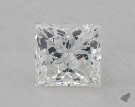 1.81 Carat G-SI1 Very Good Cut Princess Diamond