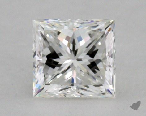 1.00 Carat F-VS1 Princess Cut  Diamond