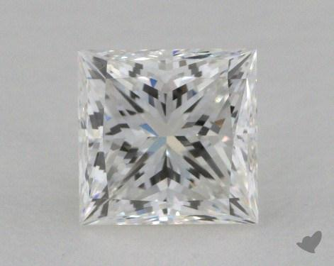 1.00 Carat H-VS1 Princess Cut  Diamond