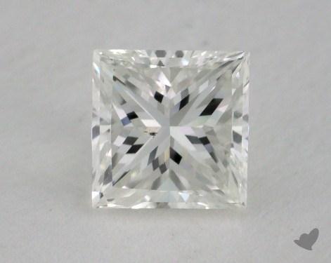 1.02 Carat G-SI1 Very Good Cut Princess Diamond