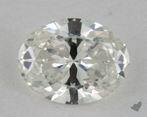 1.50 Carat F-VS1 Oval Cut Diamond