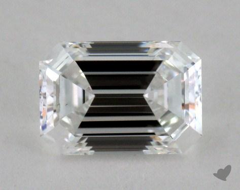0.81 Carat D-VS1 Emerald Cut  Diamond