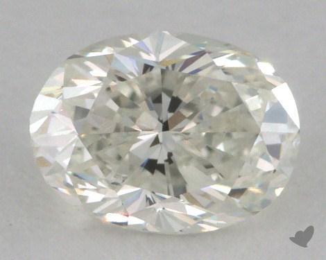 0.63 Carat H-VS2 Oval Cut Diamond