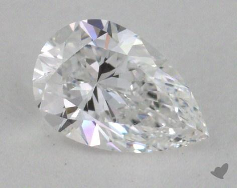 0.54 Carat D-IF Pear Shape Diamond