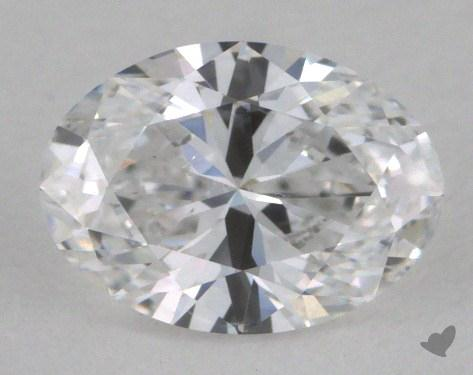 0.50 Carat D-SI2 Oval Cut Diamond