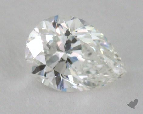 1.01 Carat F-SI1 Pear Cut Diamond 