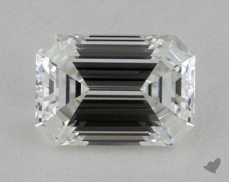 1.32 Carat F-VVS2 Emerald Cut Diamond