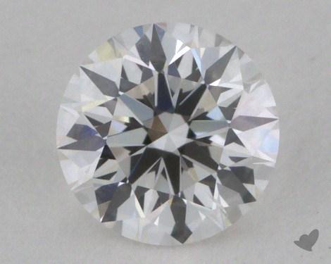 0.40 Carat F-SI1 Excellent Cut Round Diamond