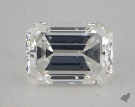 0.70 Carat F-SI2 Emerald Cut Diamond 