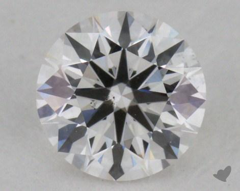 0.44 Carat G-SI2 Excellent Cut Round Diamond 