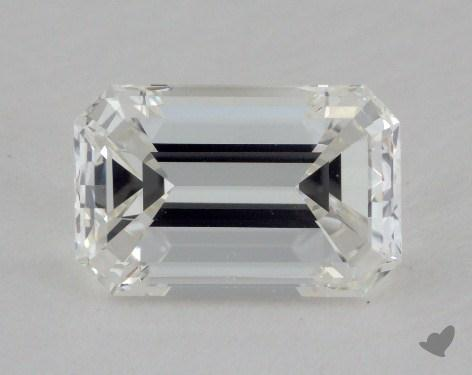 1.51 Carat H-VS2 Emerald Cut  Diamond