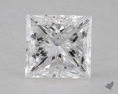 1.58 Carat E-VVS2 Princess Cut  Diamond