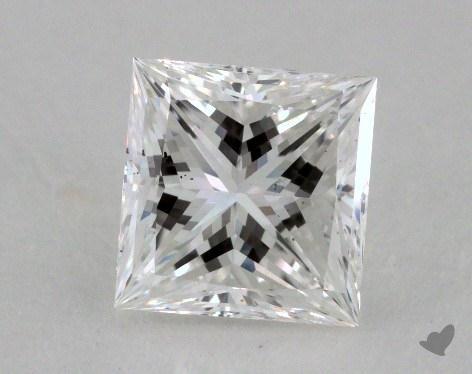 1.10 Carat F-SI1 Very Good Cut Princess Diamond
