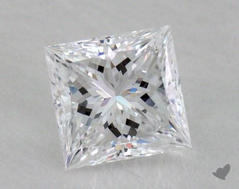 1.06 Carat D-VVS2 Ideal Cut Princess Diamond