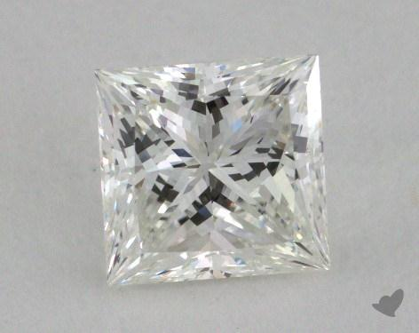 1.05 Carat G-VVS1 Ideal Cut Princess Diamond