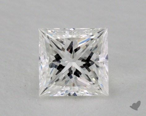 1.02 Carat F-IF Princess Cut Diamond