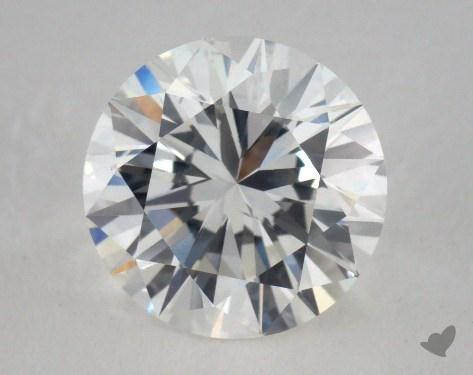 2.03 Carat E-SI1 Ideal Cut Round Diamond