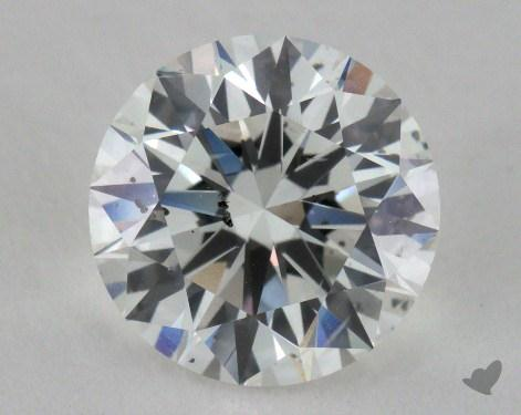 1.90 Carat E-SI2 Ideal Cut Round Diamond