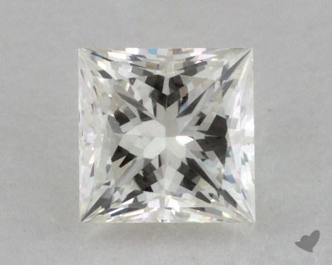 0.50 Carat K-VVS2 Very Good Cut Princess Diamond