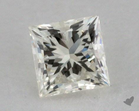 0.50 Carat K-VVS1 Very Good Cut Princess Diamond