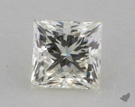 0.80 Carat K-VS1 Very Good Cut Princess Diamond